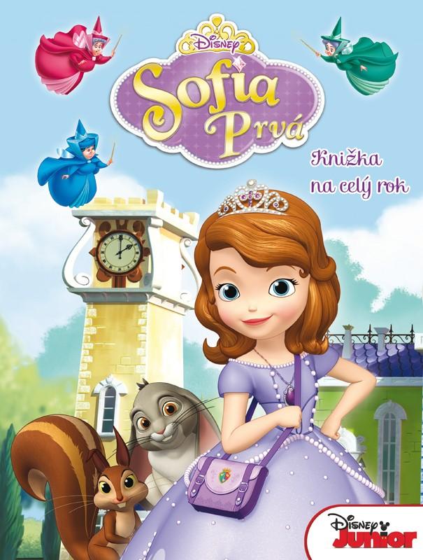 Sofia Prvá - Knižka na celý rok - Walt Disney