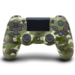 SONY - PS4 DualShock 4 Wireless Cont. V2 Green Camouflage