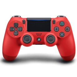 SONY - PS4 DualShock 4 Wireless Cont. V2 Magma Red