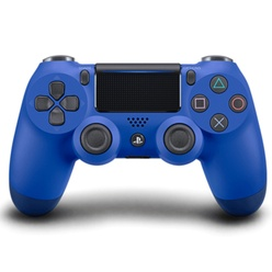 SONY - PS4 DualShock 4 Wireless Cont. V2 Wave Blue
