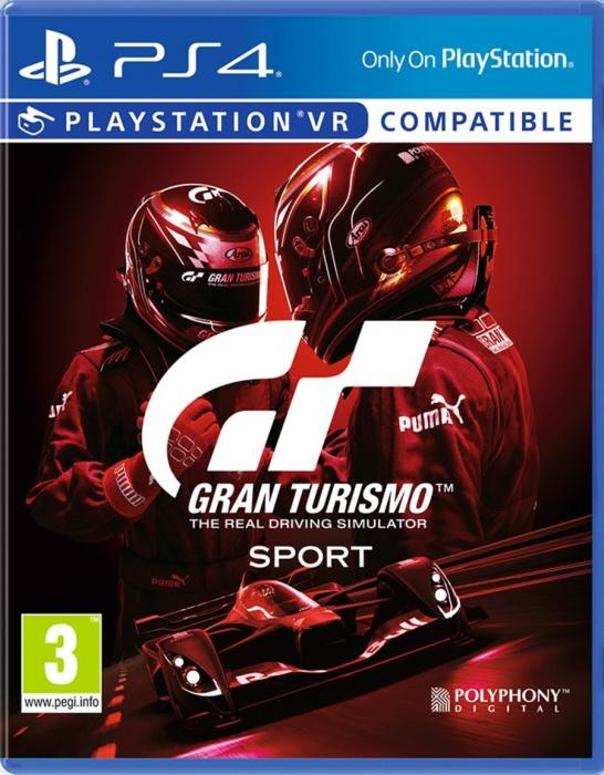 SONY - PS4 Gran Turismo Sport Spec II, Závodný simulátor pre PlayStation 4