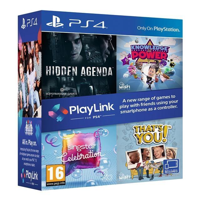 SONY - PS4 Hidden Agenda +Knowledge +Singstar +Thats You
