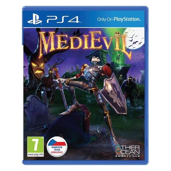 SONY - PS4 MediEvil CZ, akčná adventura pre PlayStation 4