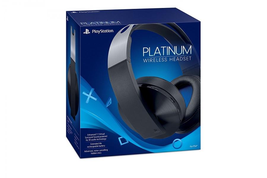 SONY - PS4 Platinum Wireless Stereo Headset