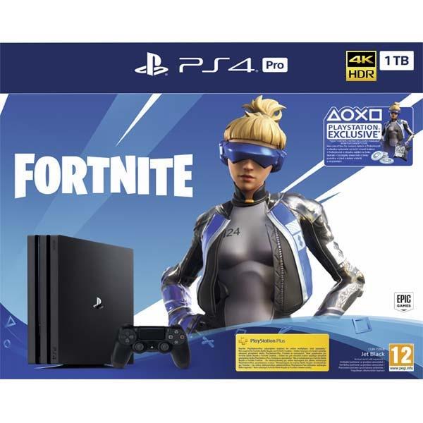 SONY - PS4 pre Konzole 1TB + Fortnite, Herná konzola PlayStation 4 pre 1 TB