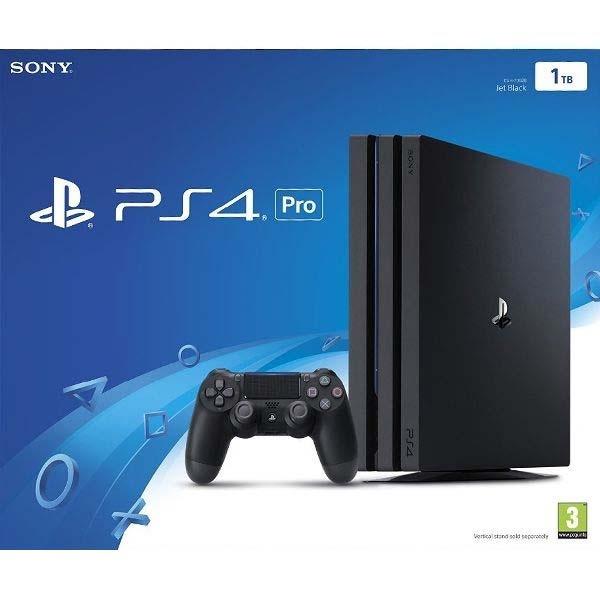 SONY - PS4 pre Konzole 1TB Jet Black, Herná konzola PlayStation 4 Pro