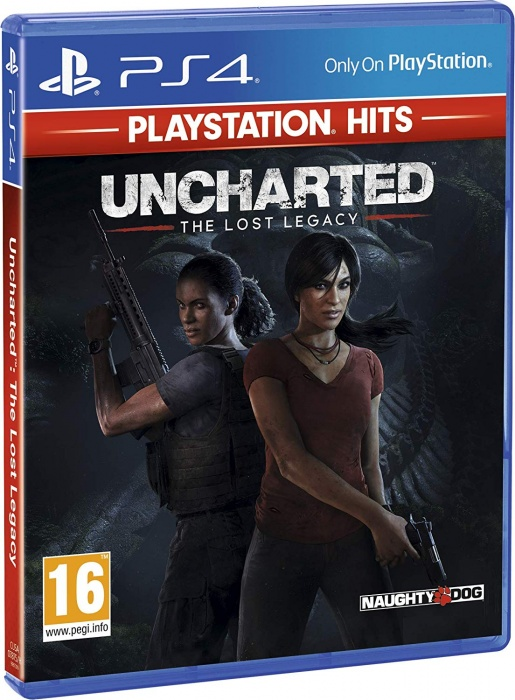 SONY - PS4 Uncharted: The Lost Legacy HITS, akčná adventura pre PlayStation 4