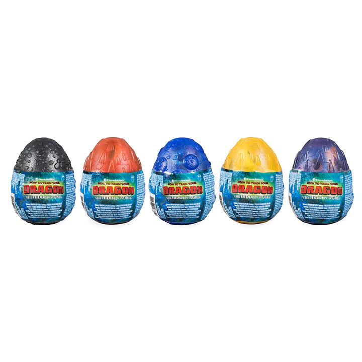 SPIN - Draky 3 Plyšové Hračky Vo Vajíčkach
