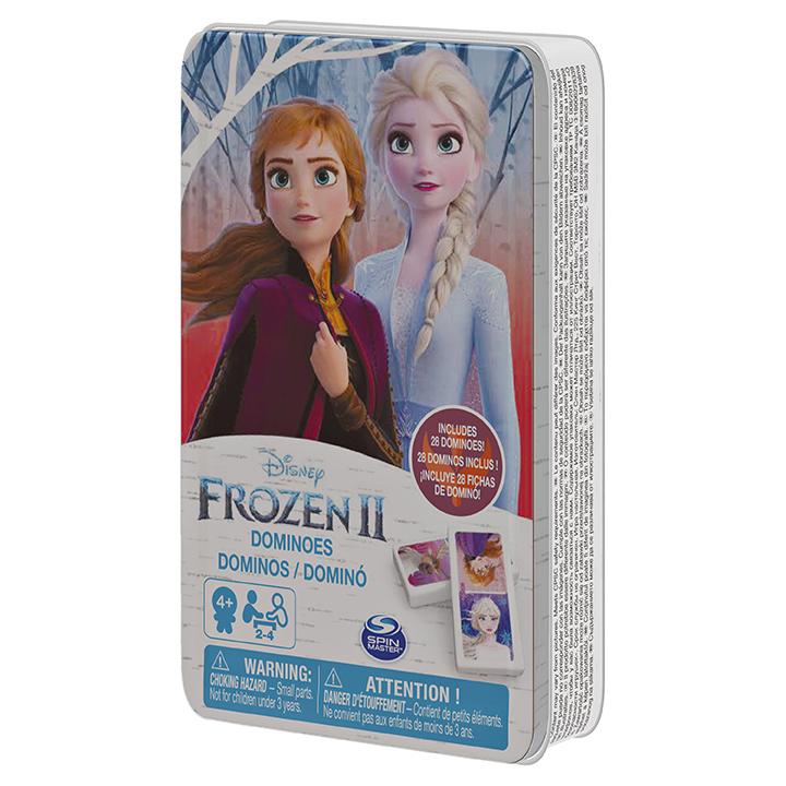 SPIN - Frozen 2 Domino V Plechovej Krabičke