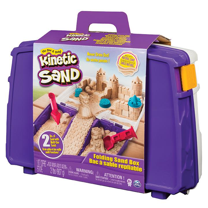 3f3db2cb70760 SPIN - Kinetic Sand Cestovný Kufrík S Formičkami - Market24.sk
