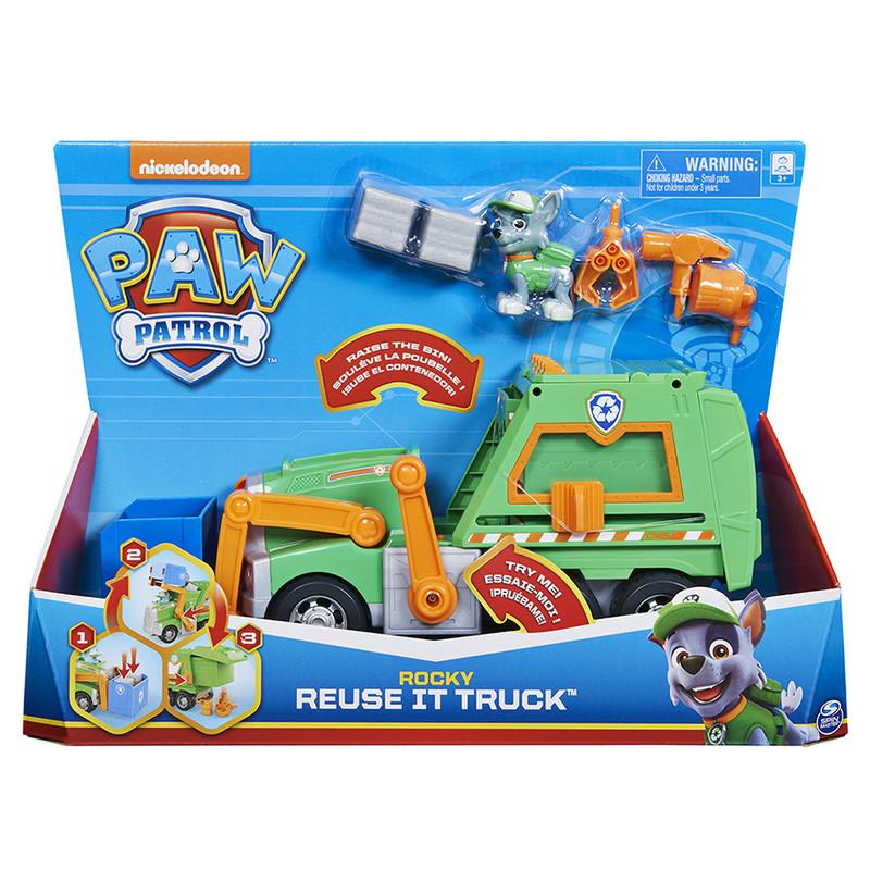 SPIN - Paw Patrol Rocky Recyklačné Auto