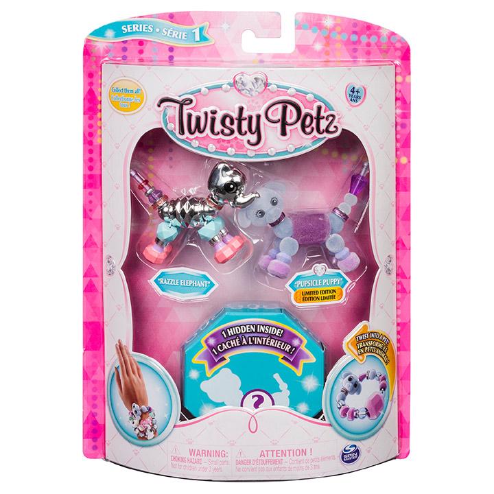SPIN - Twisty Petz 3 Náramky / Zvieratká