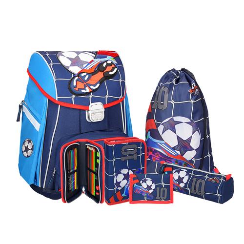 SPIRIT - Školská taška - 5-dielny set, START Football No. 10