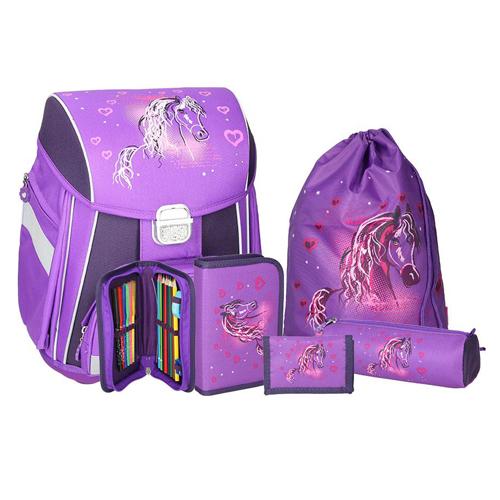 SPIRIT - Školská taška - 5-dielny set, START Horse
