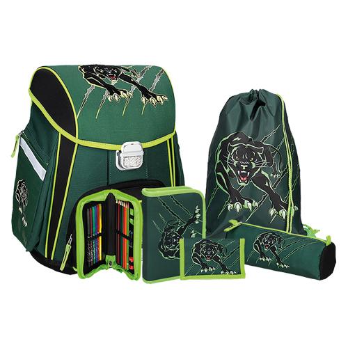 SPIRIT - Školská taška - 5-dielny set, START Panther
