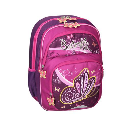 SPIRIT - Školský batoh ergonomický, Butterfly