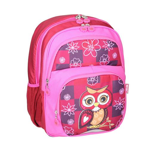 SPIRIT - Školský batoh ergonomický, Owl Red