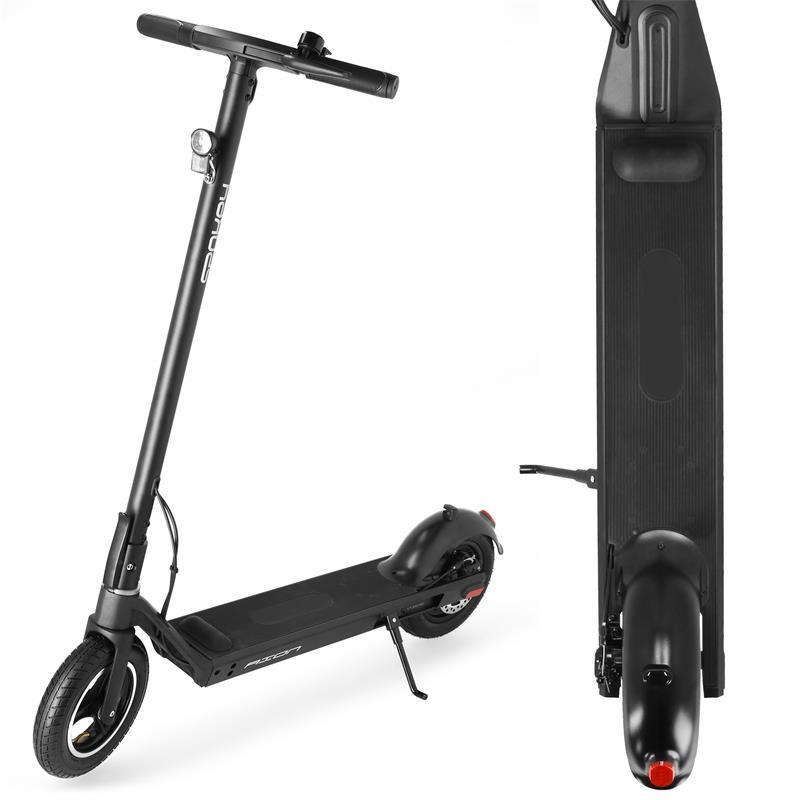 SPOKEY - AION Elektrická kolobežka čierna, kolieska 10 ', batérie 10 Ah, do 100 kg