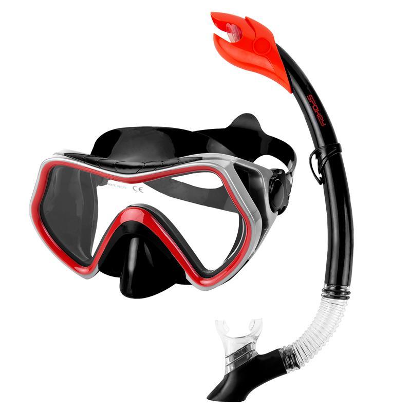 SPOKEY - BORNEO Sada pre potápanie maska+šnorchel
