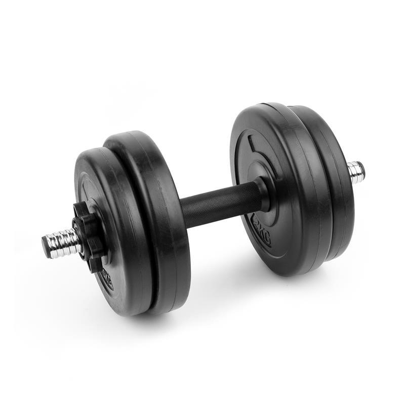 SPOKEY - BURDEN SET Činka 7 kg, sada závaží 2x 2kg, 2x 1,5 kg, 1 hriadeľ