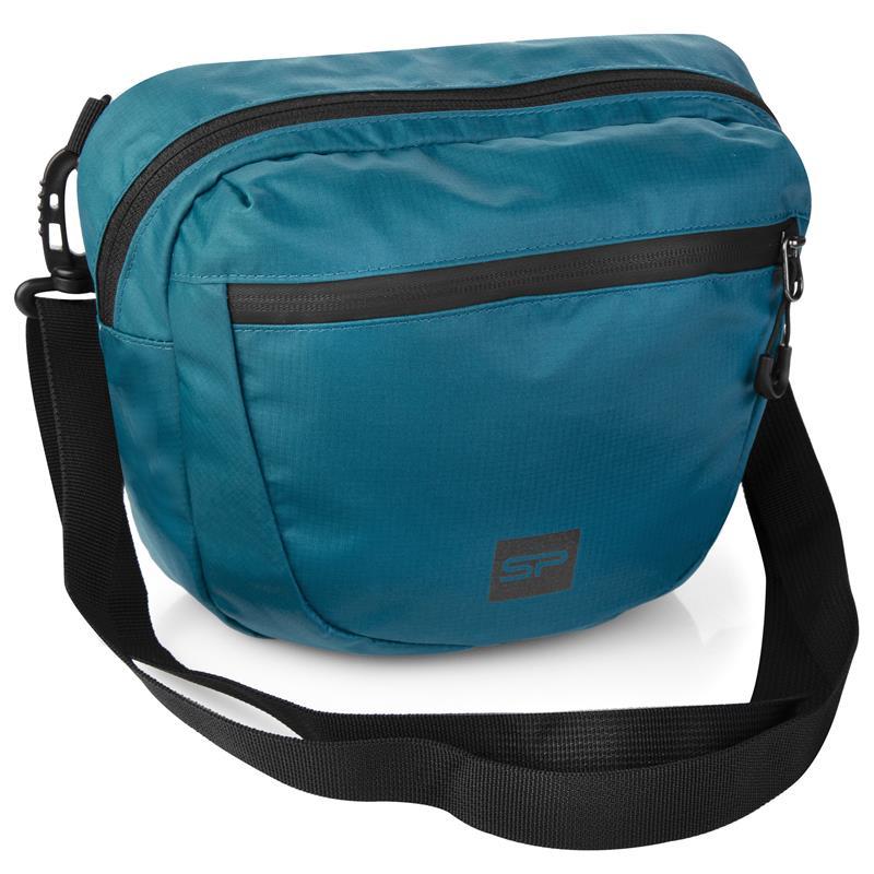 SPOKEY - CROCO Taška cez rameno 4 l, modrá