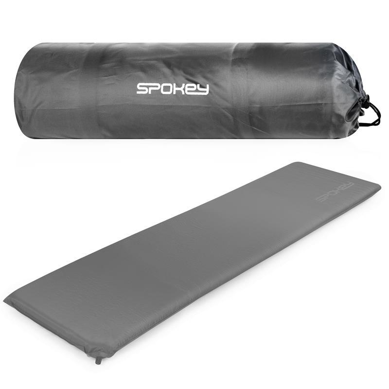 SPOKEY - FATTY Samonafukovacia karimatka 5 cm, sivá