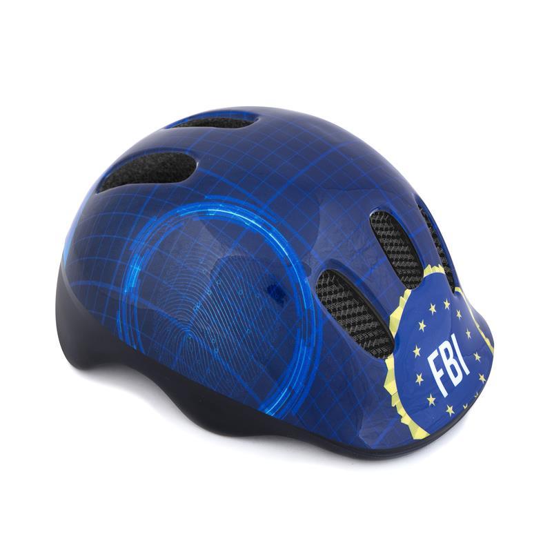 SPOKEY - FBI Detská cyklistická prilba, 48-52 cm
