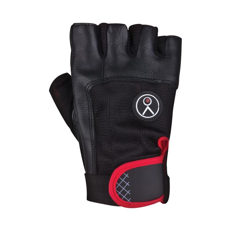SPOKEY - FIKS - Fitness rukavice čierne L
