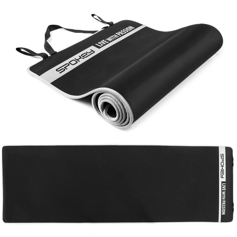 SPOKEY - FLEXMAT V Podložka na cvičenie čierna