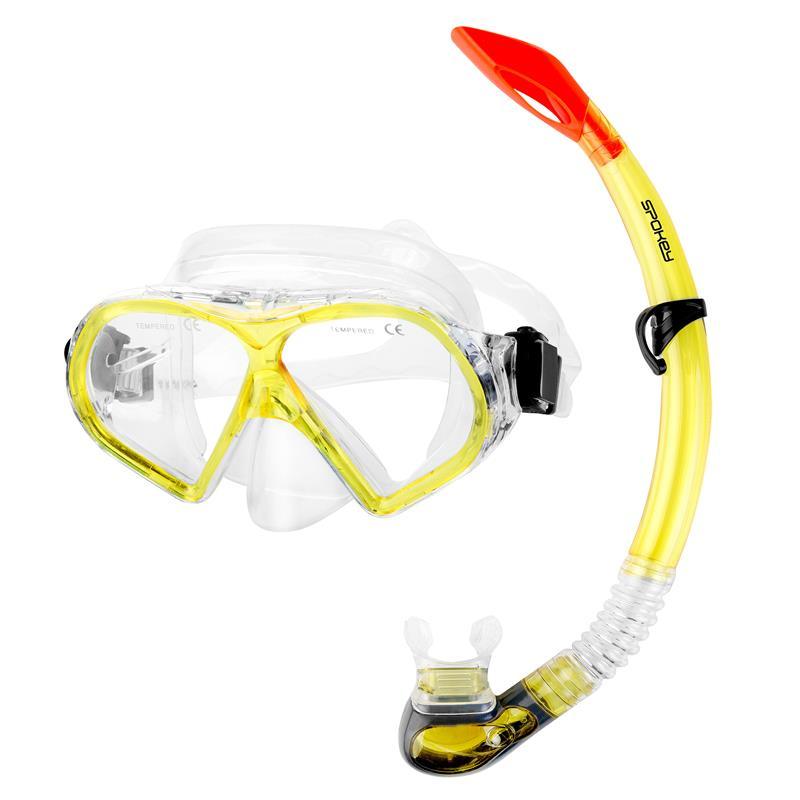 SPOKEY - FLONA Dámska sada pre potápanie maska+šnorchel