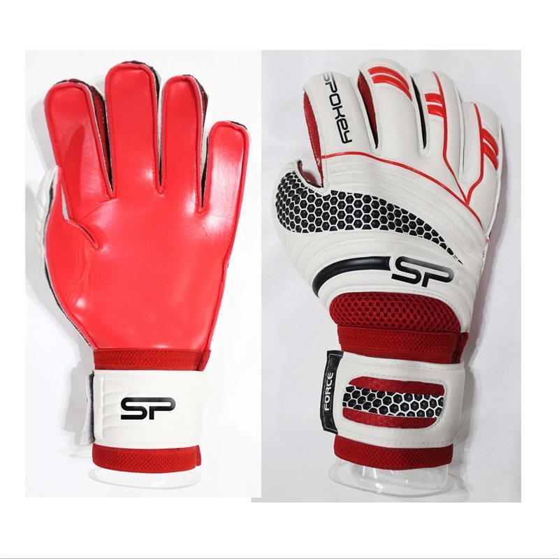 SPOKEY - FORCE PRO Brankárske rukavice červené rozmer 8