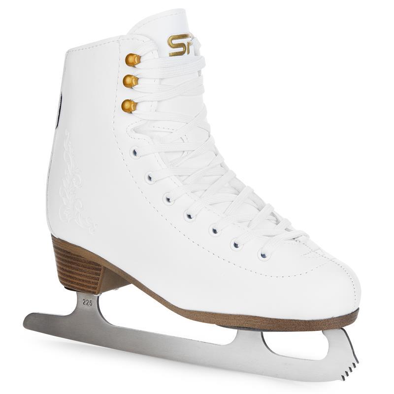SPOKEY - FUR Krasokorčuliarske korčule biele vel. 39