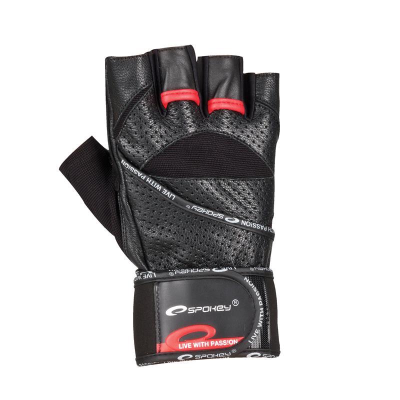 SPOKEY - GANTLET Fitness rukavice vel. L