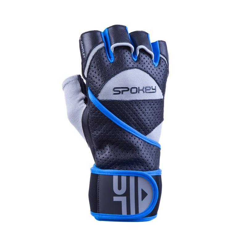 SPOKEY - GANTLET II Fitness rukavice vel.L čierno-modré