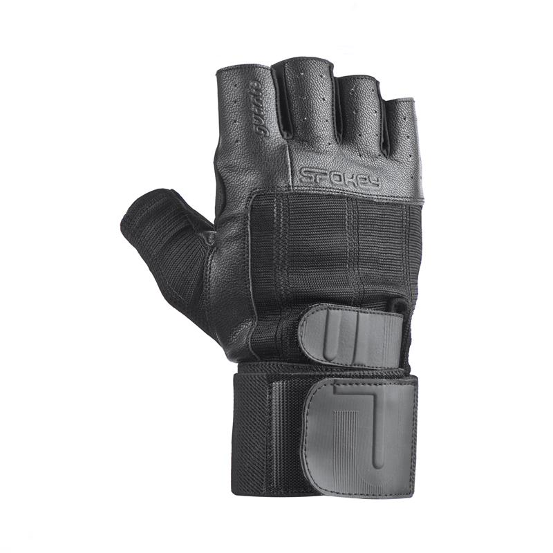 SPOKEY - GUANTO II fitness rukavice vel.L čierne
