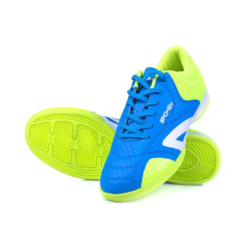 SPOKEY - HALL JR 1 Juniorská sálová obuv modro-žltá vel.39