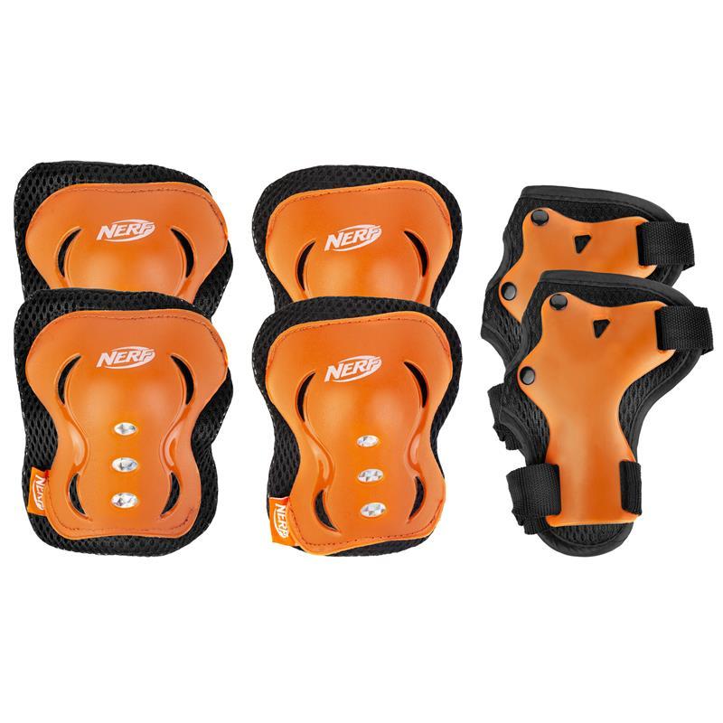 SPOKEY - HASBRO ARMOR - 3-dielna sada detských chráničov, oranžová, veľkosť M