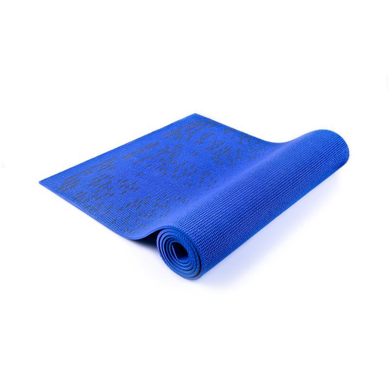 SPOKEY - LIGHTMAT II podložka na cvičenie_modrá 6 mm
