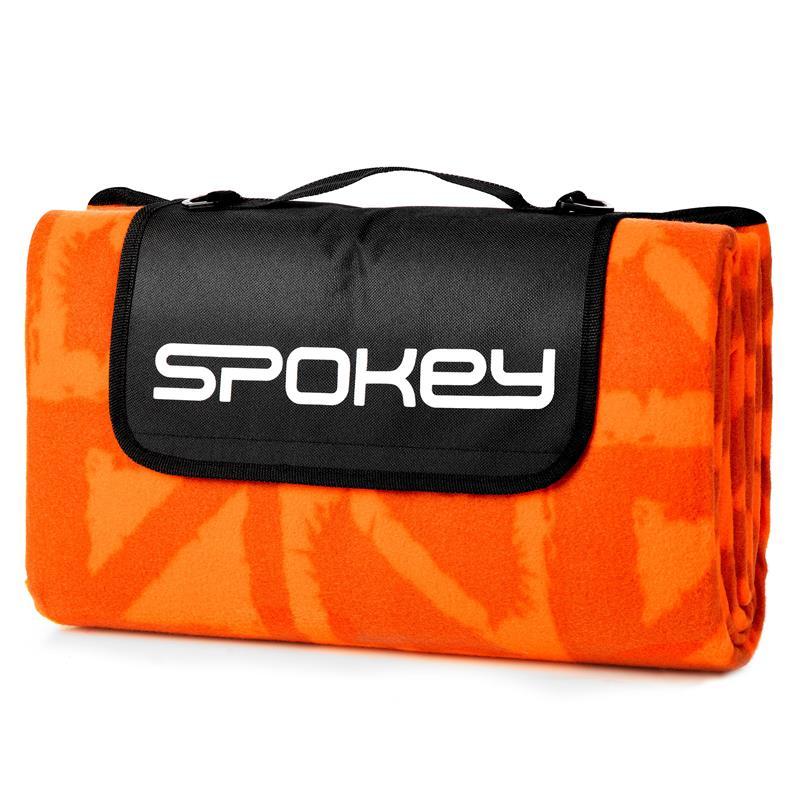 SPOKEY - PICNIC APRICOTE Pikniková deka s popruhom 150 x 180 cm