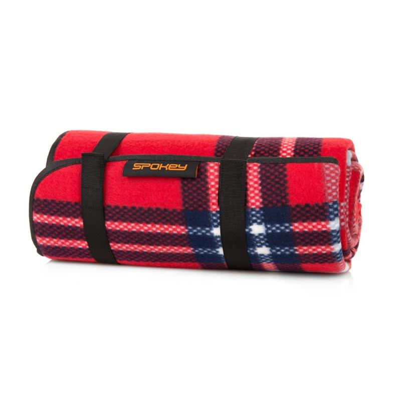 SPOKEY - PICNIC HIGHLAND Pikniková deka s popruhom 130 x 150 cm