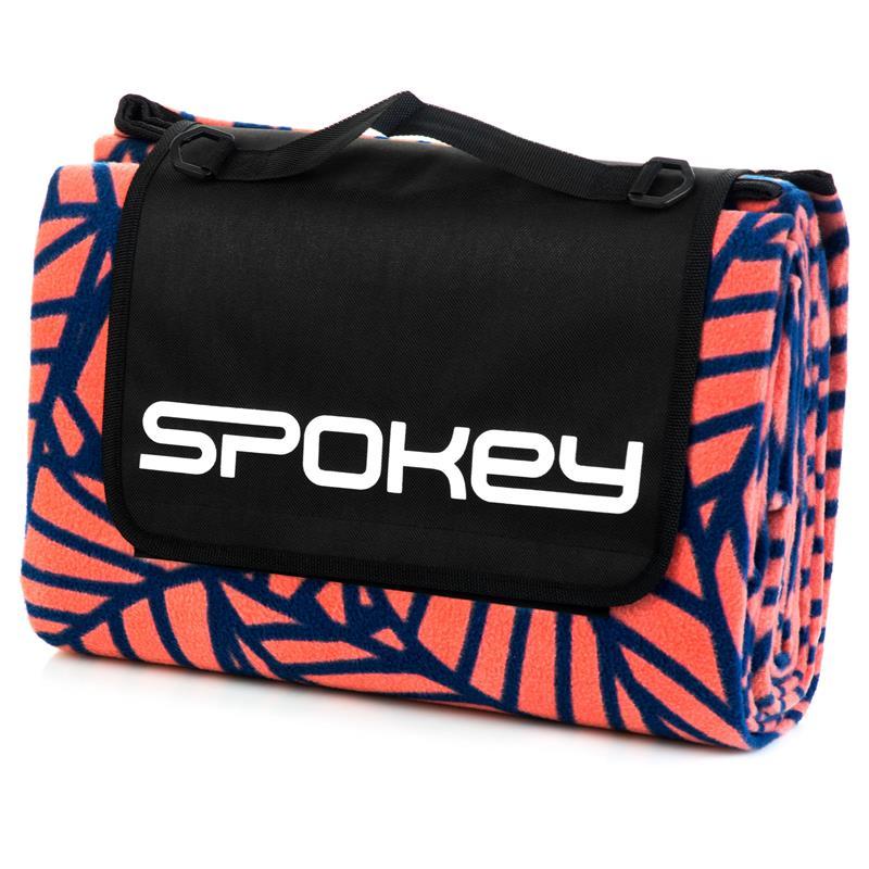 SPOKEY - PICNIC LEAF Pikniková deka s popruhom 180 x 210 cm