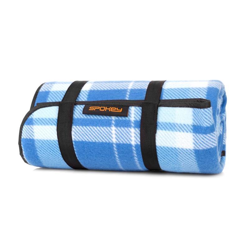 SPOKEY - PICNIC MOOR Pikniková deka s popruhom 130 x 150 cm