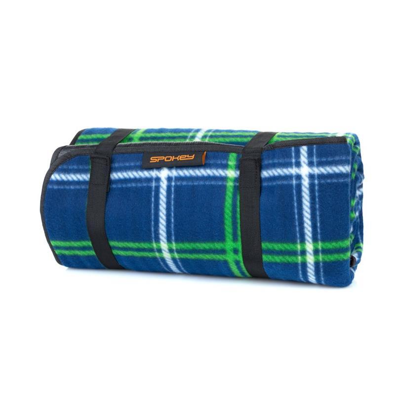 SPOKEY - PICNIC TARTANA Pikniková deka s popruhom 150 x 180 cm