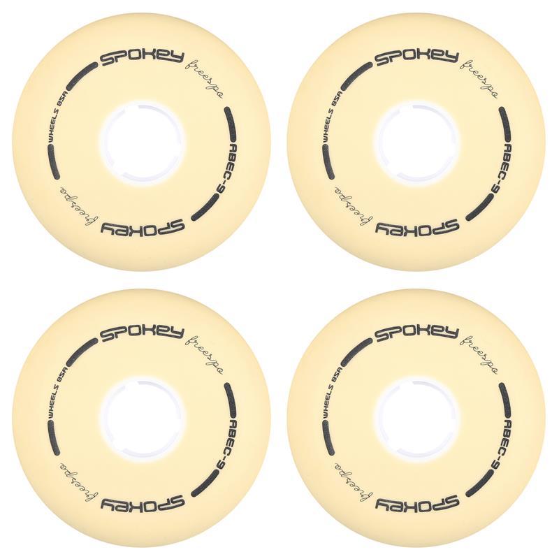 SPOKEY - PU 80 mm Náhradné kolieska ku korčuliam FREESPO