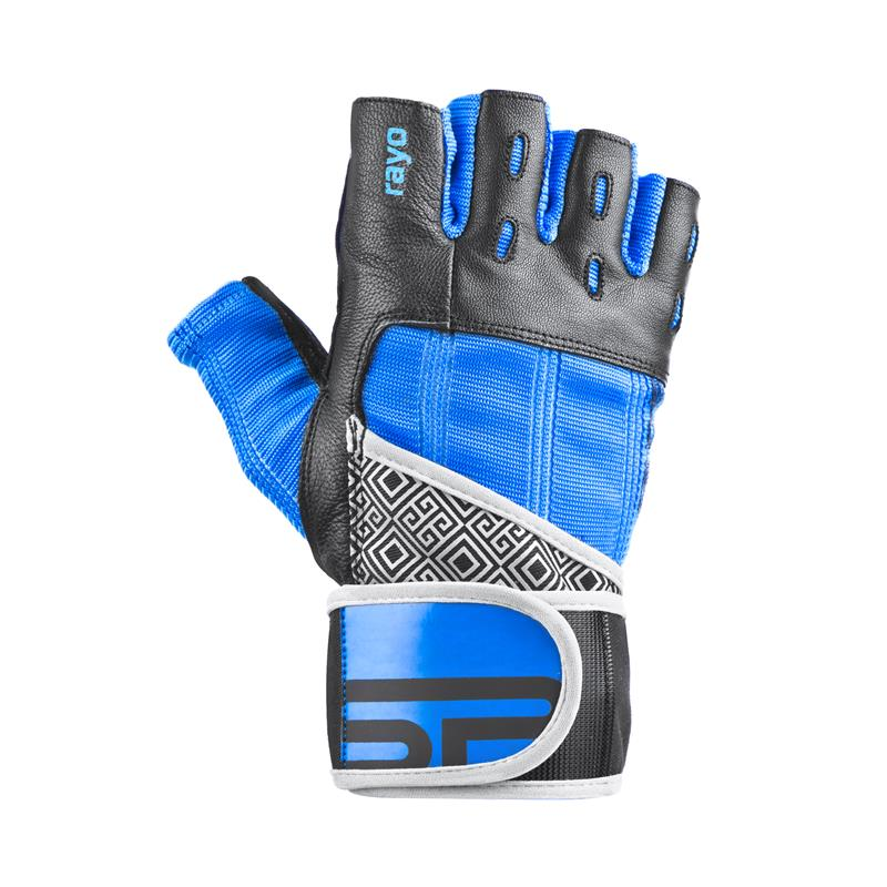 SPOKEY - RAYO III fitness rukavice vel.L čierno-modré