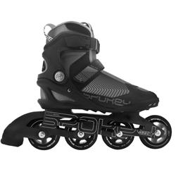 SPOKEY - REVO kolieskové korčule, Čierne, ABEC7 Chrome, veľ. 41