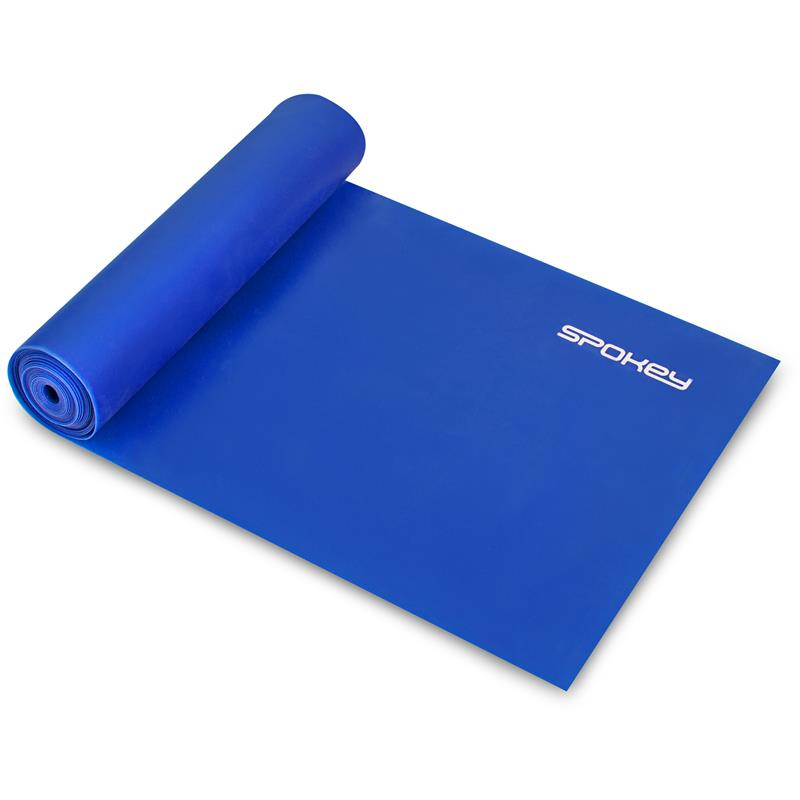 SPOKEY - RIBBON II fitness guma modrá hard