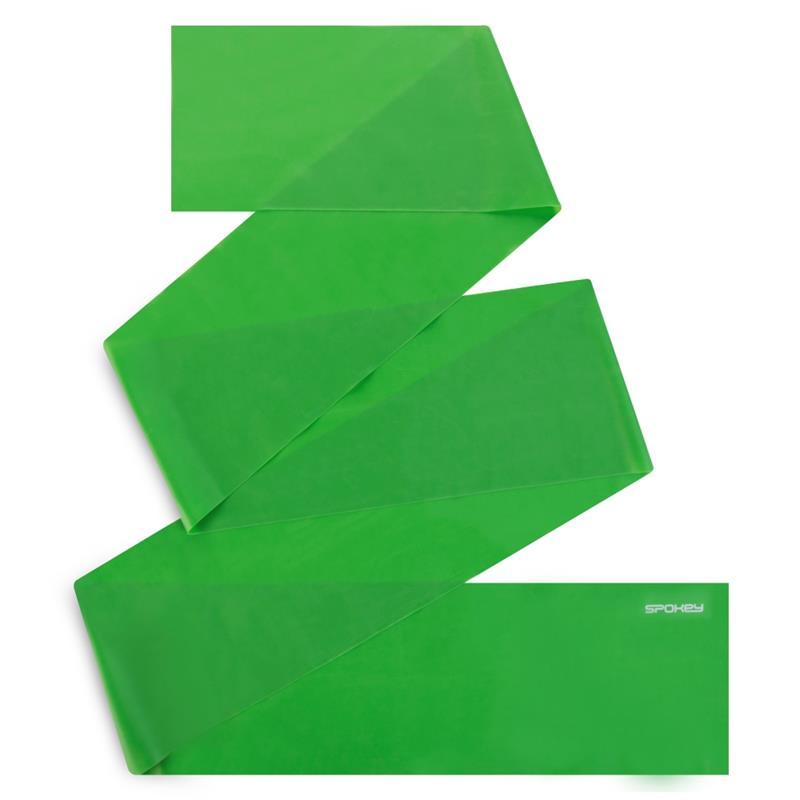 SPOKEY - RIBBON II fitness guma zelená medium
