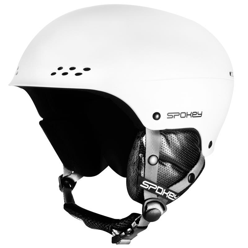 SPOKEY - ROBSON lyžiarska prilba biela, veľ. L / XL