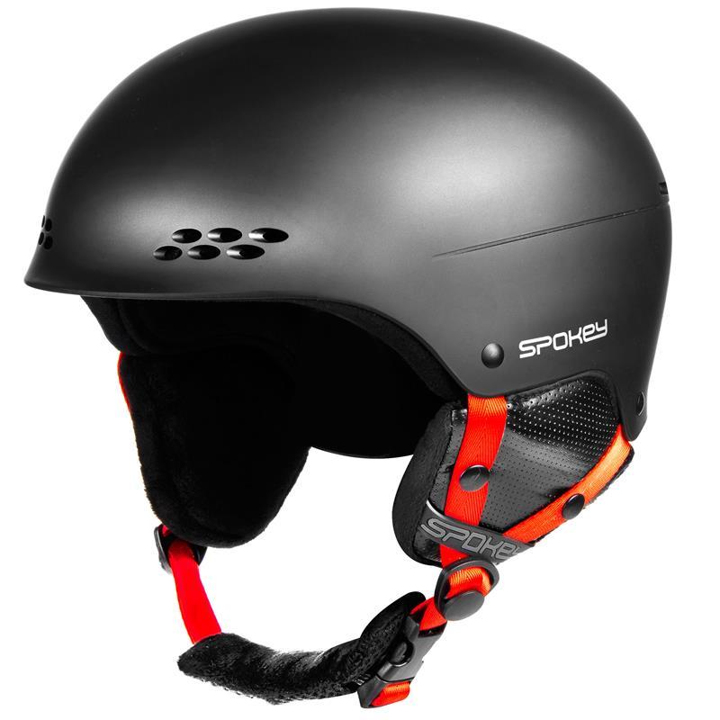 SPOKEY - ROBSON lyžiarska prilba čierna, veľ. M